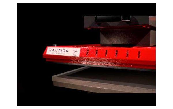 Πρέσα Θερμομεταφοράς Διπλή Secabo TPD7 2x40x50cm Πνευματική