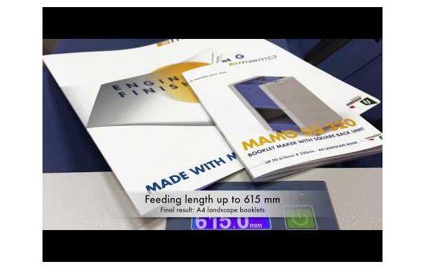Booklet Maker Mamo SQ 320